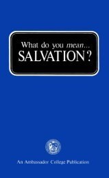 What Do You Mean - Salvation (1973)_b.pdf - Herbert W. Armstrong