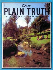 Plain Truth 1966 (Prelim No 06) Jun - Herbert W. Armstrong