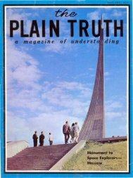 Plain Truth 1968 (Prelim No 01) Jan - Herbert W. Armstrong