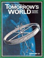 Tomorrows World 1972 (Vol IV No 04) Apr - Herbert W. Armstrong