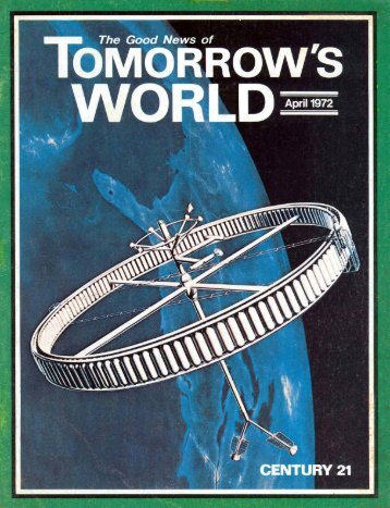 Tomorrows World 1972 (Vol IV No 04) Apr - Herbert W. Armstrong