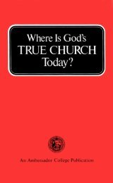 Where is Gods True Church Today (1973)_b.pdf - Herbert W ...