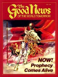Good News 1985 (Prelim No 04) Apr - Herbert W. Armstrong