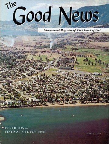 The Good News - Herbert W. Armstrong
