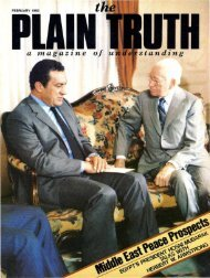 Plain Truth 1982 (Prelim No 02) Feb - Herbert W. Armstrong