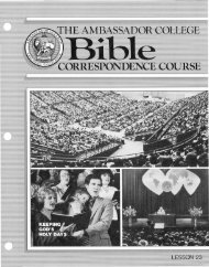 AC Bible CC L23 (1985) - Herbert W. Armstrong