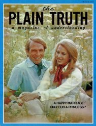 Plain Truth 1974 (Prelim No 03) Mar - Herbert W. Armstrong
