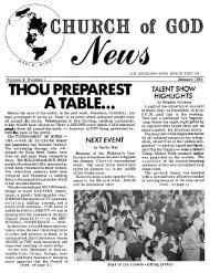 COG News LA-LB 1964 (Vol 04 No 01) - Herbert W. Armstrong