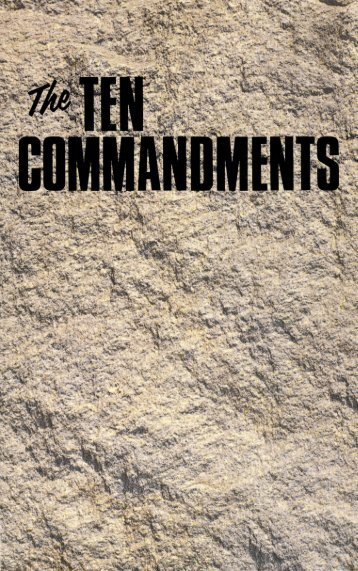 Ten Commandments (1972)_b.pdf - Herbert W. Armstrong