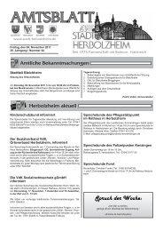 Spruch der Woche: - Stadt Herbolzheim