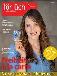 Ausgabe 2 / 2013 - Sparkasse KölnBonn