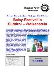 Belsy-Festival in Wolkenstein - Passauer Neue Presse