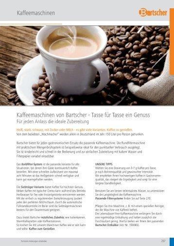 Bartsche Cafeteria und Bar Kategorie ... - Gastro-Quelle