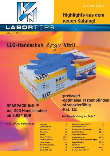 LaborTops 4/2013 - KOCH+NAGY Labortechnische Systeme GmbH
