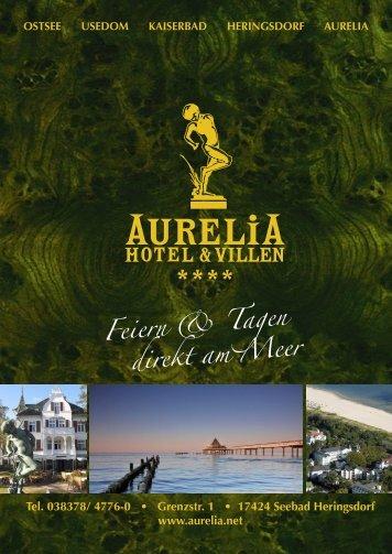 feiern & tagen - Aurelia Hotels & Villen