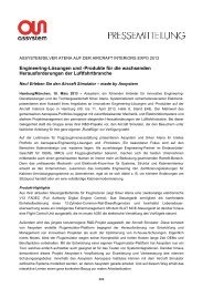 Engineering-Lösungen und -Produkte für die ... - Assystem GmbH