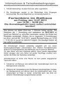 Informationen & Teilnahmebedingungen - Bad Endorf - Seite 5