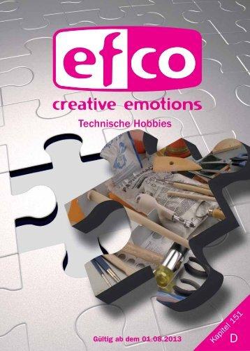 151. Technische Hobbies - Efco