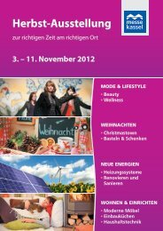 11. November 2012 - Herbst-Ausstellung Messe Kassel