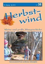 Ausgabe 38 als PDF-Download - Herbstwind Online