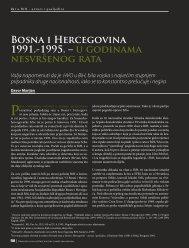 Bosna i Hercegovina 1991.-1995. – u godinama ... - HercegBosna