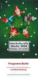 2008 Teilhaben - Teil werden! - Herden Studienreisen Berlin