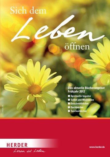 Sich dem öffnen - Verlag Herder