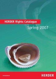 Rightsguide 26_02 - Verlag Herder