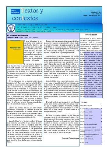 Textos y contextos: boletin bibliografico nº 3 - E-Archivo ...