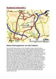 Roadbook Vulkaneifel 1 Kleine Schnuppertour um alte Vulkane