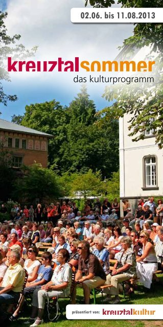 02.06. bis 11.08.2013 - Kreuztal Kultur