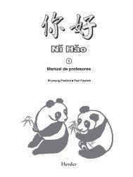 Libro del profesor - Herder Editorial