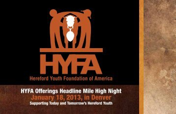 Download brochure. - American Hereford Association