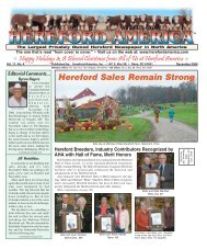 December 2006 Issue (pdf - 7029 kb)... - Hereford America