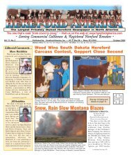 October 2006 Issue (pdf - 8983 kb)... - Hereford America