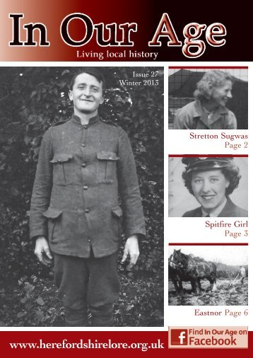 Issue 27: Winter 2013 - Herefordshire Lore