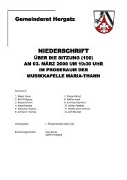 Protokoll der Sitzung Nr. 100 vom 03. März 2008 - Gemeinde Hergatz