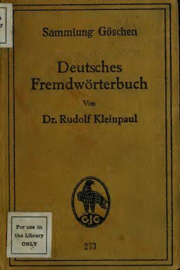 Deutsches Fremdwörterbuch