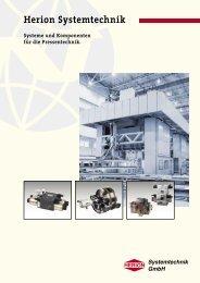 Systeme und Komponenten - Herion Systemtechnik GmbH