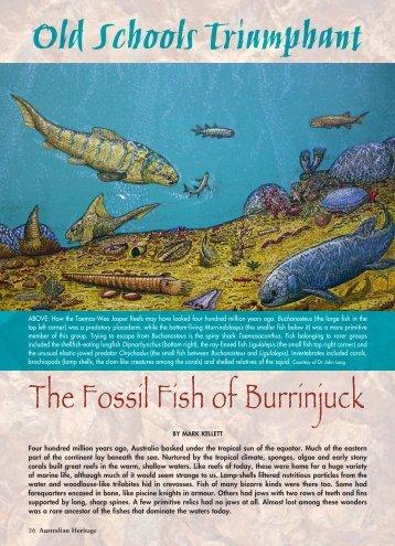 Heritage 0610_Burrinjuck.pdf - Australian Heritage Magazine