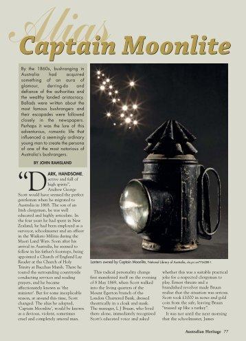 Heritage 0609_Capt Moonlight.pdf - Australian Heritage Magazine
