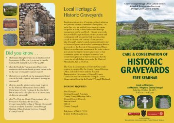'Care & Conservation of Historic Graveyards' Free Seminar