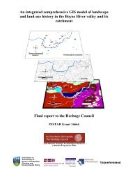 An integrated comprehensive GIS model of landscape and land-use ...