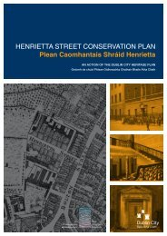 Henrietta Street Conservation Plan - The Heritage Council