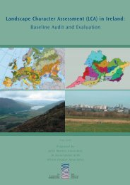 Download Landscape Character Assesment in Ireland here
