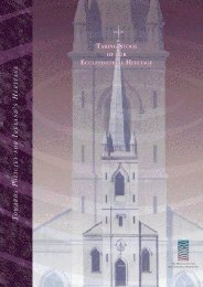Download Taking Stock of our Ecclesiastical Heritage here