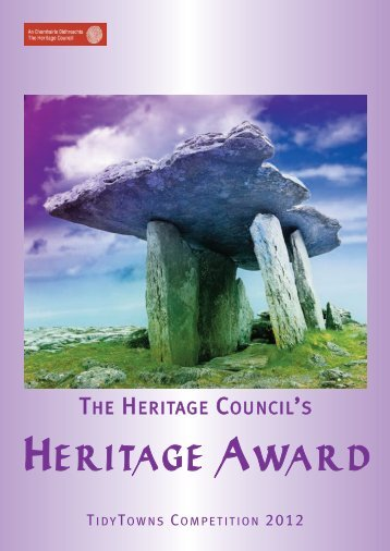 Download the TidyTowns Heritage Award application form (En ...