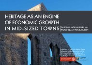 Heritage as an engine of economic growtH - The Heritage Council