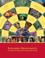 EXPLORING BIODIVERSITY: A Guide for Educators Around the World