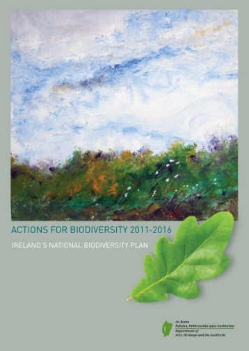 Actions for Biodiversity 2011- 2016 - Department of Arts, Heritage ...